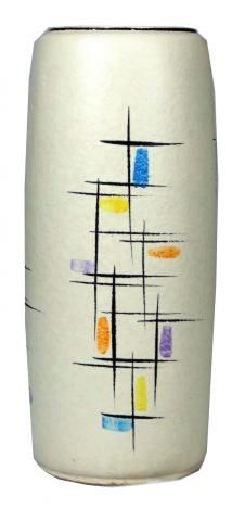 Monumental Vase with Abstract Design | Modernism