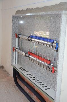 Bathtub Plumbing, Arduino Controller, Underfloor Heating Systems, Radiant Heat, Autocad, Architecture Details, House Design, Flooring, Storage