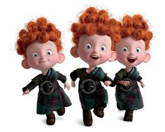 Triplets from Brave <3