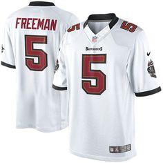 Nike Josh Freeman Tampa Bay Buccaneers Historic Logo Limited Jersey - White - $54.99