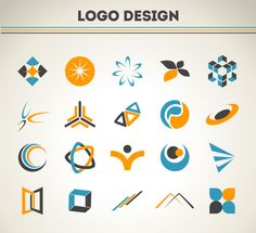 Here's a massive post with free logo templates any designer should have! These free logo templates can be used for your future logo designs. Free Logo Templates, Logo Design Template, Modern Logo Design, Graphic Design Services, Badge Design, Sign Design, Adobe Illustrator, Logo Abstrait, Logo Foto