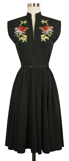 The Trashy Diva Maria Dress now comes in Black!! You could wear this all year!!