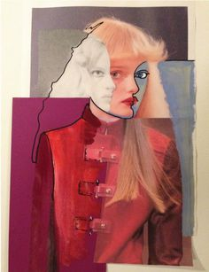 """The Sitting"" by Susanne Deeken | http://ineedaguide.blogspot.com/2015/03/susanne-deeken.html #art #photography #collage"