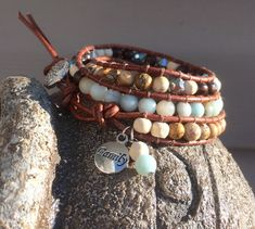 Your place to buy and sell all things handmade Healing Bracelets, Gemstone Bracelets, Aromatherapy Jewelry, Thing 1, Body Heat, Natural Gemstones, Diffuser, Charmed, Etsy Shop