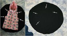 Lady Tattooch: Kolová vesta + fotonávod Sewing, Needlework, Sew, Stitching, Costura