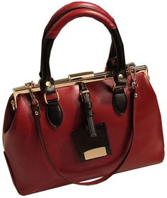 Fashionable Contrast Color Tote