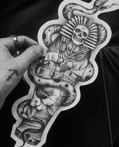 Amazing Tattoo Ideas for You! Dope Tattoos, Skull Tattoos, Leg Tattoos, Black Tattoos, Body Art Tattoos, Tattoos For Guys, Sleeve Tattoos, Script Tattoos, Arabic Tattoos