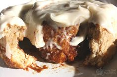 Healthy Cinnamon Rolls - Gluten Free ~I like the ingredients in this one compared to others if you use arrowroot