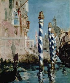 Edouard Manet, 1875, Grand Canal, Venice