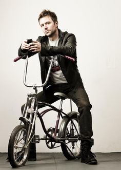 I have this crush on Chris Hardwick now, because I loved his book and he's into all the same things my boyfriend likes.