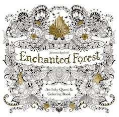 Enchanted Forest: An Inky Quest & Coloring Book: Johanna Basford: Amazon.com.mx: Libros