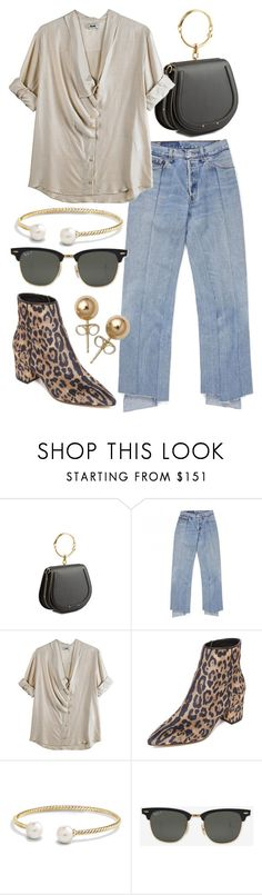 """""""Untitled #22051"""" by florencia95 ❤ liked on Polyvore featuring Chloé, Acne Studios, Steven, David Yurman, Ray-Ban and Bling Jewelry"""