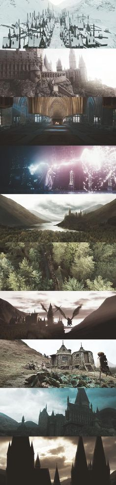 The world of Harry Potter.