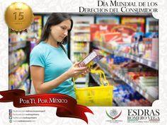 Amigos muy buenos días, hoy celebramos el Día Mundial de los Derechos del Consumidor. #Madero #Altamira #Aldama