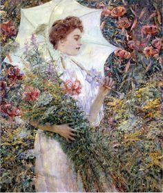 The White Parasol, 1907
