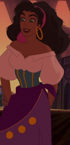 Esmeralda is my favorite Disney female heroine. She's strong, wise, fearless, beautiful, and stands up for those she loves.