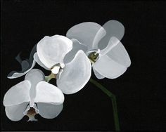 Acrylique peinture orchidée Print par PaintingDO sur Etsy
