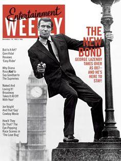 James Bond actor, George Lazenby.