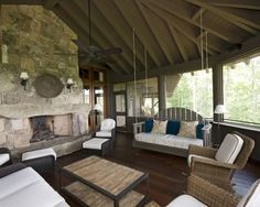 Great screened in porch!