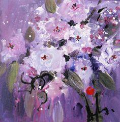 Violet Rhythms by Danielle O'Connor Akiyama