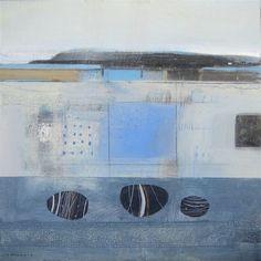 FIONA MILLAIS - Artist - Gallery Landscape Elements, Contemporary Landscape, Abstract Landscape, Coastal Art, Modern Coastal, Abstract Paintings, Abstract Art, Color Shapes, Colour