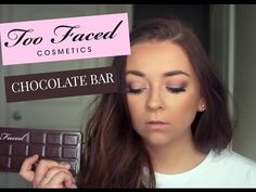 Today is a super easy look using my Too Faced Chocolate Bar Palette! This is a great look for everyday when you want a little extr. Too Faced Eyeshadow, Too Faced Makeup, Eyeshadow Looks, Makeup Goals, Beauty Makeup, Eye Makeup, Hair Beauty, Chocolate Bar Too Faced, Chocolate Bar Palette