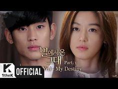 [MV] Lyn(린) _ My Destiny(My Love From the Star(별에서 온 그대)OST Part 1) - YouTube