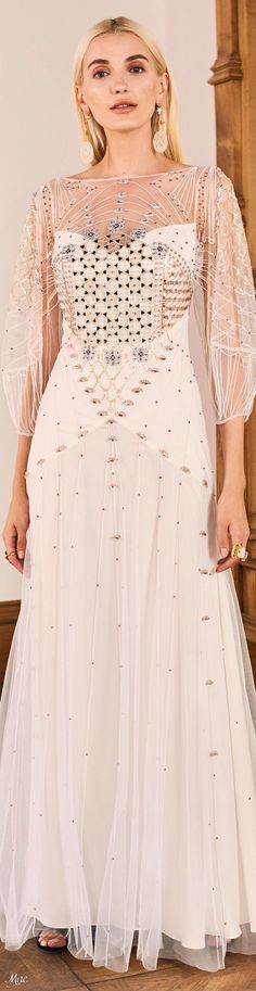 London Summer, Fashion Show, Fashion Trends, Women's Fashion, Temperley, Couture Collection, Beautiful Gowns, Girly Girl, Evening Gowns