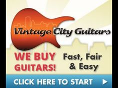 Sell Guitar | Visit http://VintageCityGuitars.com to sell your guitar online.  We are professional, friendly, and we specialize in buying and selling guitars.  Visit us today today and sell your used or vintage guitar with confidence.  We guarantee you'll love our service. Check us out at-http://VintageCityGuitars.com Sell GuitarSell Guitars http://en.wikipedia.org/wiki/GuitarRelated Video: https://www.youtube.com/watch?v=H3O3XnJ1s44This Video: https://www.youtube.com/watch?v=WxhXQK-BfzU