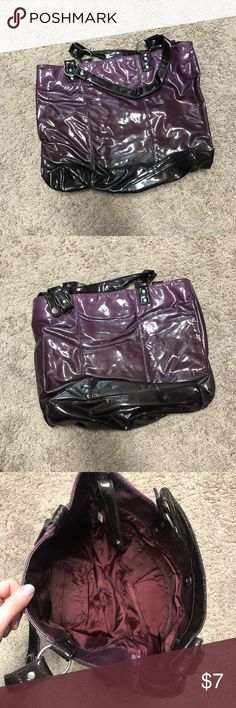 Purple Tote Great condition! Bags Totes