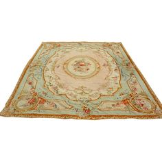 Gorgeous Neoclassical Style Aubusson Tapestry (€107.710) ❤ liked on Polyvore featuring home, rugs, furniture, carpets, interior, tapetes, woven area rugs, woven rugs, aubusson area rugs and tapestry rug