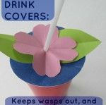 Drink Cover Summer Kids Craft