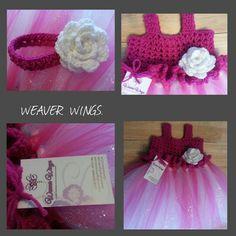 Weaver wings crochet top tutu dress on sale for girls.weaverwings@gmail.com