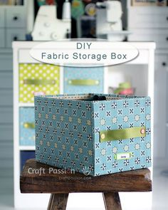 A detail tutorial on how to DIY fabric Storage Box by using carton box & fabric. Brighten up your storage boxes wt colorful fabrics to match your home deco. – Page 2 of 2