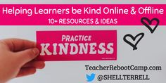 Great post by Shelly Sanchez Terrell about kindness online and offline.     teacherrebootcamp... #tlchat #futurereadylibs #txlchat #aledchat #edchat #istelib