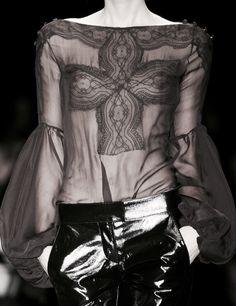 Givenchy Fall 2008~detail