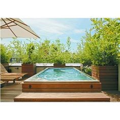 large spa instead of pool?