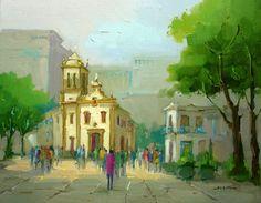 Largo e Igreja de Santa Rita