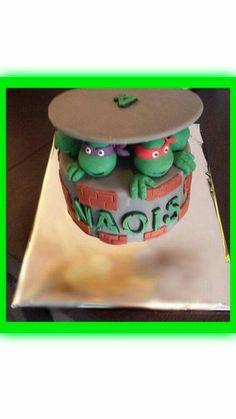 Turtle cake! TMNT