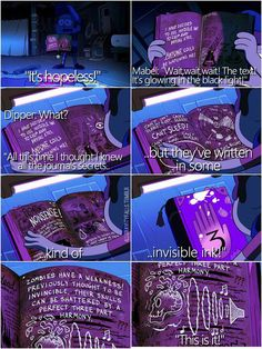 Invisible ink!