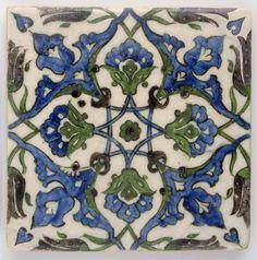 Motifs Art Nouveau, Art Nouveau Pattern, Art Nouveau Design, Turkish Tiles, Portuguese Tiles, Moroccan Tiles, Islamic Art Pattern, Pattern Art, Tile Art
