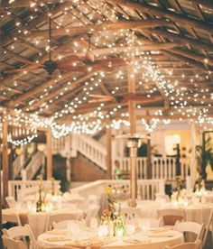 want lights in the rafters of the barn
