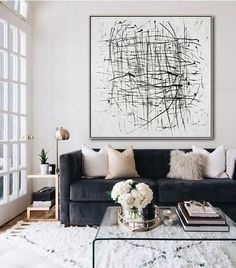 5 Reasons Why Black And White Abstract Art Is Dreamy For Your Home (Daily  Dream Decor)