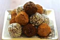 Raw Chocolate Energy Bites.Simple to make and scrumptious to eat, these energy bites will put pep in your step with clean ingredients.