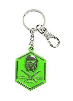 Star Wars Rogue One - Death Trooper Metal Metal Shaped Keychain (Sdtsdt27619)