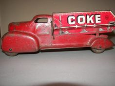 Vintage 1940's MARX  Hope you'll check out our other Coca Cola boards. Cans, Bottles, Ads, Vehicles and Everything Else acontornosr