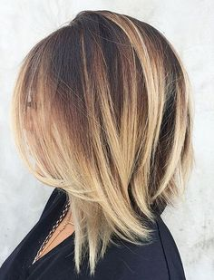 Balyage short hair trends 2017 33 96dpi
