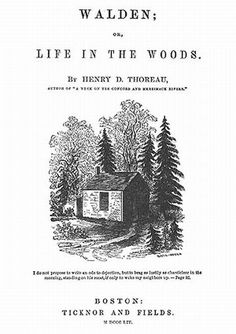 Walden, by Henry David Thoreau. The copy with foreword by Bill McKibben is excellent.