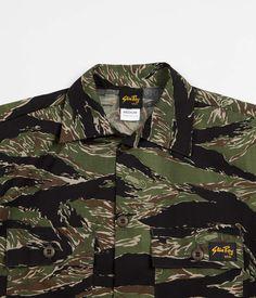 Stan Ray Men/'s New Snyder Field Cotton Ripstop Jacket Green Tigerstripe Camo