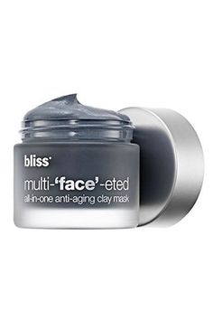 """18 Fall Must-Haves, Courtesy Of L.A.'s Top Celebrity Makeup Artists #refinery29  http://www.refinery29.com/celebrity-makeup-artists-product-tips#slide-10  Must-Have Fall Product:  Bliss Multi-'Face'-Eted All-In-One Anti-Aging Clay Mask """"This amazing treatment is the perfect solution to keeping your skin looking fresh, young, and healthy after spending months in the hot summer sun."""""""